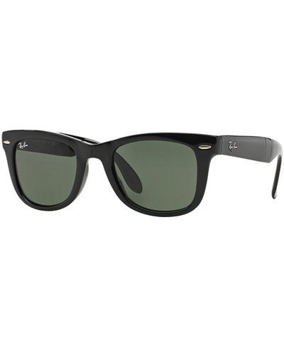 Ray-Ban Sunglasses, RB4105 54 FOLDING WAYFARER