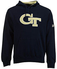 Colosseum Men's Georgia Tech Yellow Jackets Big Logo Hoodie