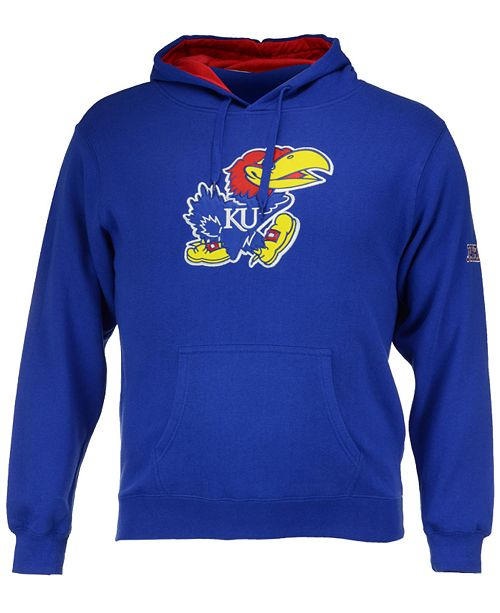 Colosseum Men's Kansas Jayhawks Big Logo Hoodie