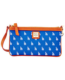 Dooney & Bourke Los Angeles Dodgers Large Slim Wristlet