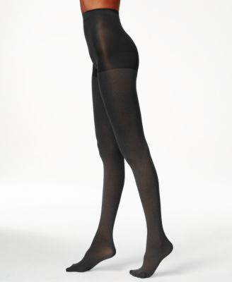 Hue Ultimate opaque control top tights 2 pair black  SZ 2 USA made
