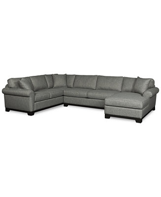Clarence 2 piece fabric full sleeper sectional with chaise for Andrea 2 piece sleeper chaise