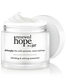 philosophy renewed hope in a jar, 4 oz
