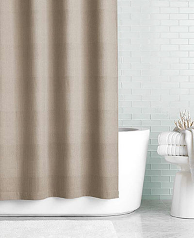 Hotel Collection Waffle 72 X 72 Shower Curtain