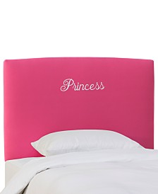 Lizza Twin Princess Headboard, Quick Ship