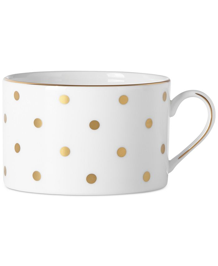 kate spade new york - Larabee Road Gold Collection Bone China Cup