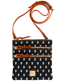 Dooney & Bourke San Francisco Giants Triple Zip Crossbody Bag