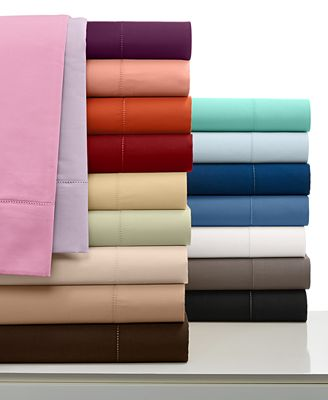 CLOSEOUT! Charter Club Damask Queen 4-pc Sheet Set, 500 Thread Count 100% Pima Cotton, Created for Macy's