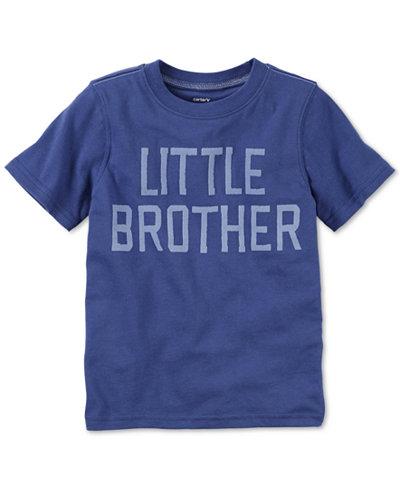 Carter 39 s toddler boys 39 little brother t shirt shirts for Big brother shirts for toddlers carters