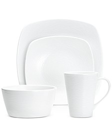 Swirl  4-Pc. Square Place Setting