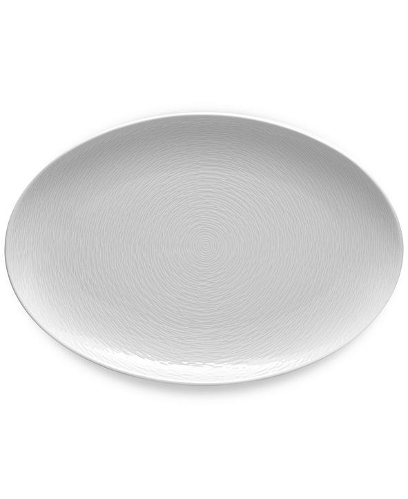 Noritake Swirl  Oval Platter