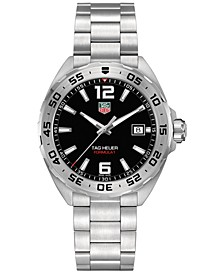 Men's Formula 1 Stainless Steel Bracelet Watch 41mm
