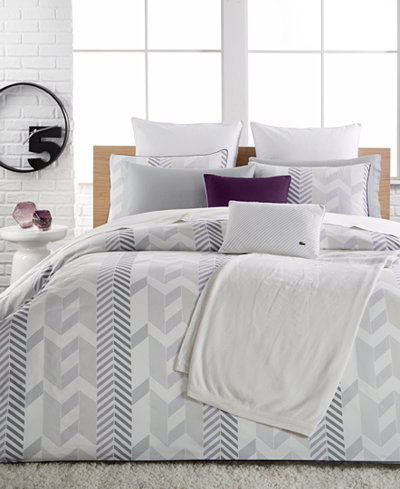 Lacoste Home Miami Duvet Cover Sets - Bedding Collections - Bed ...