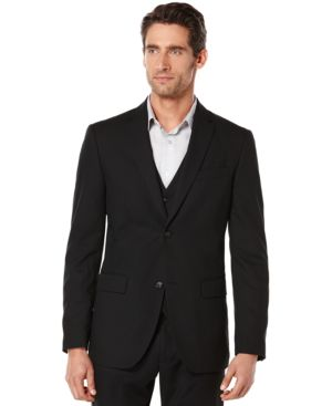 Perry Ellis Big and Tall Corded Suit Jacket 3015549