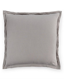 Hotel Collection Linen Fog European Sham, Created for Macy's