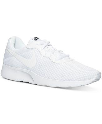 Nike Men S Tanjun Casual Sneakers From Finish Line Finish Line