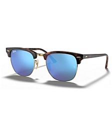 Sunglasses, RB3016 CLUBMASTER FLAT LENSES