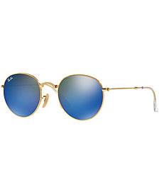 Ray-Ban ROUND METAL FOLDING Sunglasses, RB3532