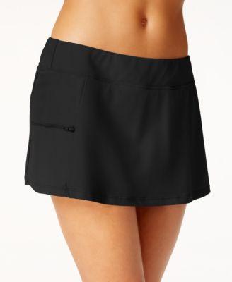 Side-Zip Swim Skirt