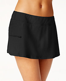 GO by Gossip Side-Zip Swim Skirt