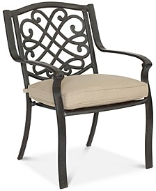 Park Gate Cast Aluminum Outdoor Dining Chair, Created for Macy's