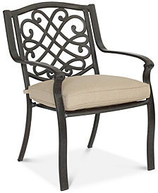 CLOSEOUT! Park Gate Cast Aluminum Outdoor Dining Chair, Created for Macy's