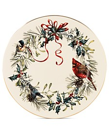 Winter Greetings Dinner Plate