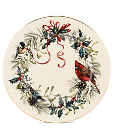 Lenox Winter Greetings Dinner Plate
