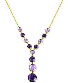 Amethyst Y-Necklace (19-1/2 ct. t.w.) in 14k Gold