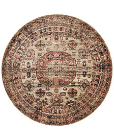 "Macy's Fine Rug Gallery Andreas   AF-03 7'10"" Round Rug"