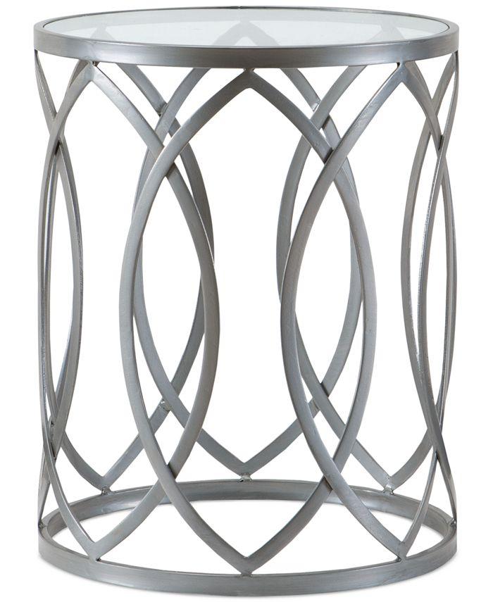 Furniture - Kiera Metal Washer Drum Table