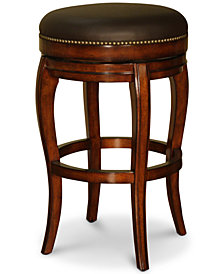 Santos Backless Bar Height Stool, Quick Ship