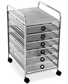 Design Ideas Digit 6-Drawer Cart