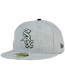New Era Chicago White Sox Heather League Basic 59FIFTY Fitted Cap