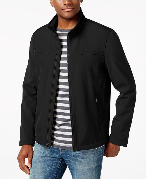 dad535da Tommy Hilfiger Softshell Classic Zip Jacket & Reviews - Coats ...