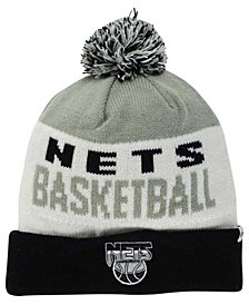 '47 Brand Brooklyn Nets Crossblock Knit Hat