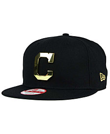 New Era Cleveland Indians League O'Gold 9FIFTY Snapback Cap