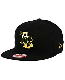 New Era Tampa Bay Rays League O'Gold 9FIFTY Snapback Cap