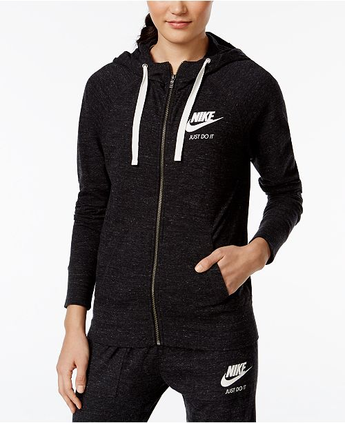 Nike Gym Vintage Full-Zip Hoodie