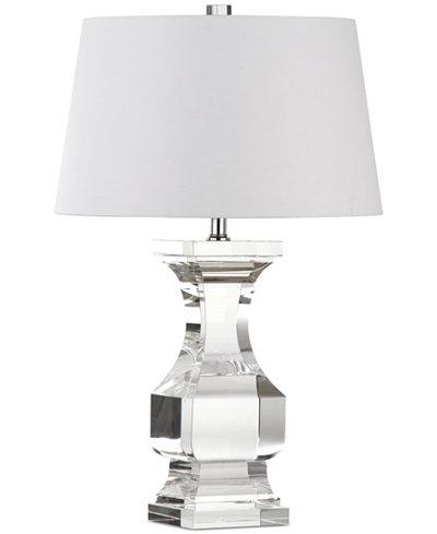 Decorator's Lighting Trophy Paris Crystal Balustrade Table Lamp