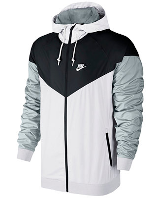 Nike Men s Windrunner Colorblocked Jacket - Hoodies   Sweatshirts - Men -  Macy s a36314c65