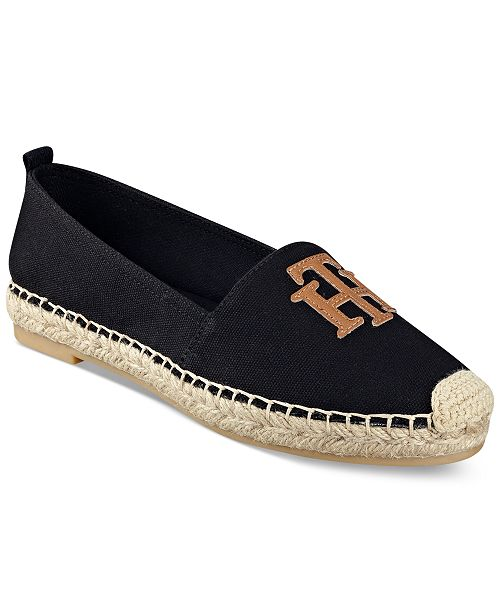 a3748e269e3f32 Tommy Hilfiger Women s Folk Espadrille Flats   Reviews - Flats ...