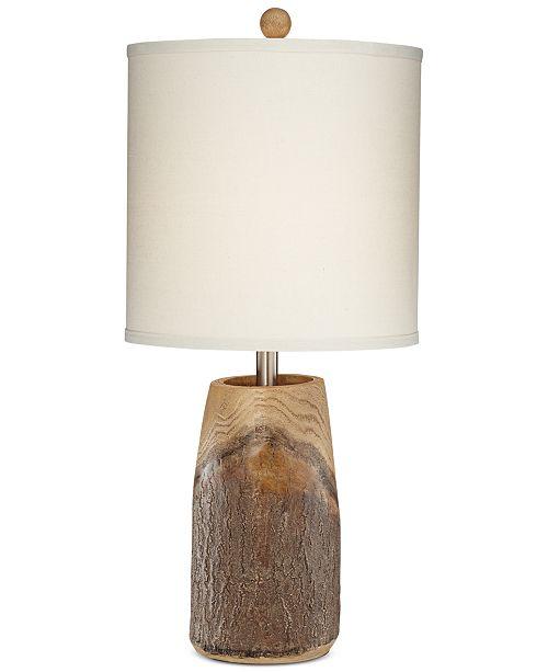 Kathy Ireland Pacific Coast Scarlet Oak Table Lamp