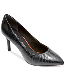 Rockport Women's Total Motion 75 MM Pointed-Toe Pumps