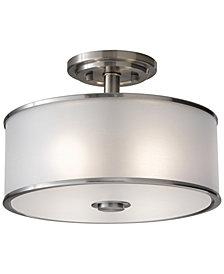 Feiss Casual Luxury 2-Light Semi-Flush Mount