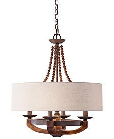 Feiss Adan 4-Light Single-Tier Chandelier