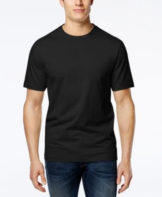 Image of Club Room Men's Crew-Neck Tee Shirt, Only at Macy's