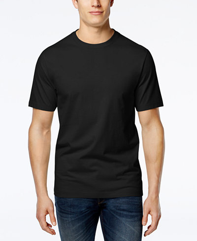 Club Room Men's Crew-Neck Tee Shirt, Only at Macy's - T ...
