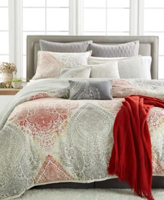 kelly ripa home kensington 10-pc. reversible comforter sets - bed