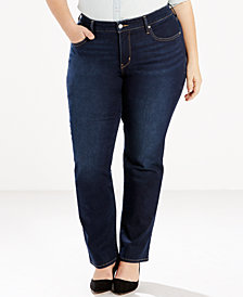 Levi's® Plus Size 314 Shaping Straight-Leg Jeans